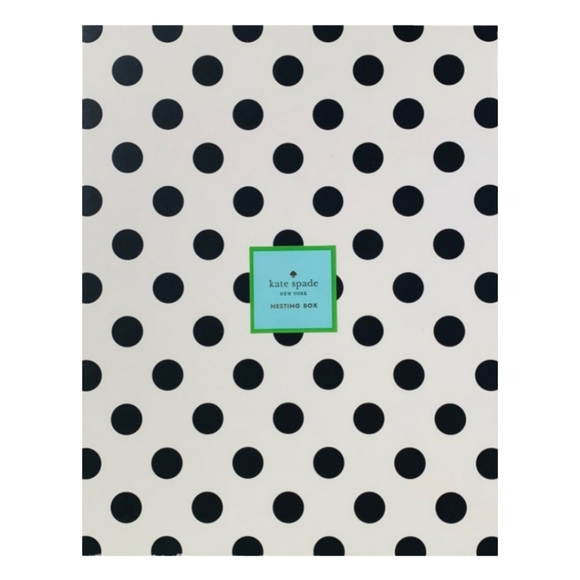 ❗Kate Spade Polka Dot Nesting Box❗